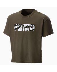 PUMA Green Mädchen T-Shirt