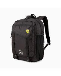 PUMA Black Scuderia Ferrari Sportswear Backpack for men