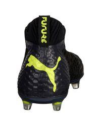 PUMA - Black Future 18.1 Netfit Fg/ag Men's Soccer Cleats for Men - Lyst