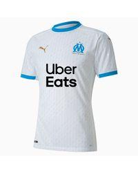 PUMA Olympique De Marseille Authentic Herenjersey in het Blue voor heren