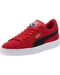 PUMA Red Suede Jr Sneakers for men