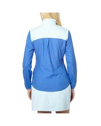 PUMA - Blue Tech Golf Wind Jacket - Lyst