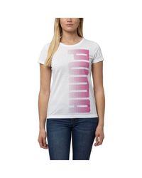 PUMA | White Graphic Scoop Neck T-shirt | Lyst