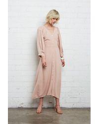 Rachel Pally Multicolor Linen Agnes Dress