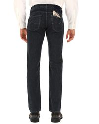 Denim Jeans In Outlet di Jacob Cohen in Blue da Uomo