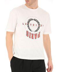 Dior White T-shirt For Men On Sale In Outlet for men