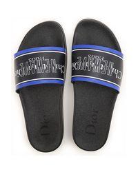 Dior Sandalen für Herren Günstig im Sale in Black für Herren