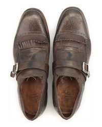 Zapatos Calados Brogue Baratos en Rebajas Church's de hombre de color Brown