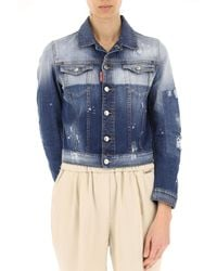 DSquared² Blue Clothing For Women