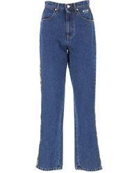 Denim Jeans In Saldo di MSGM in Blue