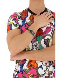Versace Armband für Herren Günstig im Sale in Black für Herren
