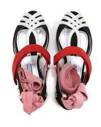 Prada Red Shoes For Women
