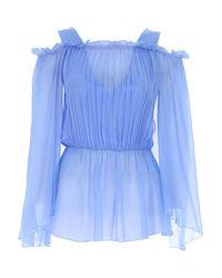 Alberta Ferretti Blue Top For Women