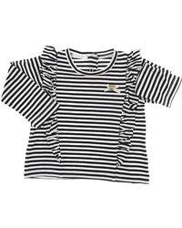 Liu Jo Blue Baby T-shirt For Girls On Sale