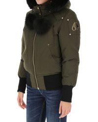 Abrigo de Plumas para Mujer Moose Knuckles de color Green