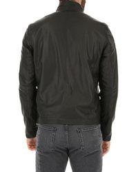 Veste Cuir Homme Pas cher en Soldes Stewart pour homme en coloris Black