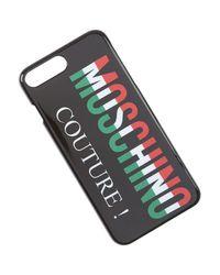 IPhone Cases Moschino en coloris Black