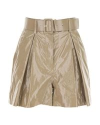 Pantaloncini Shorts Donna In Saldo di MSGM in Natural