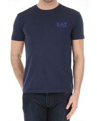 T-shirt Homme Pas cher en Soldes Outlet Emporio Armani pour homme en coloris Blue
