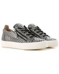 Lyst - Sneaker Femme Pas cher en Soldes Giuseppe Zanotti da0cc89ae445