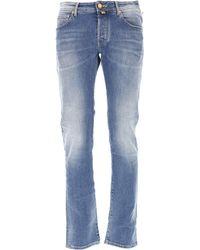 Jacob Cohen Blue Clothing For Men for men