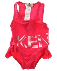 02fea565e1 KENZO Swimwear On Sale in Red - Lyst