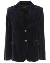 Max Mara Blue Blazer For Women