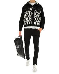 Giacca Uomo In Outlet di Versace Jeans in Black da Uomo