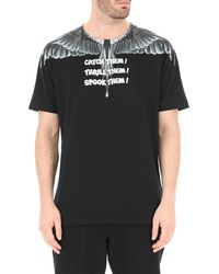 T-Shirt Uomo di Marcelo Burlon in Black da Uomo