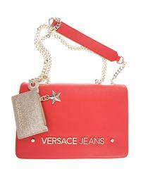 Versace Red Handbags