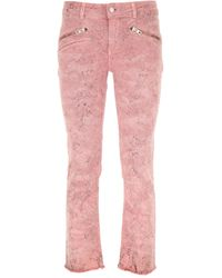 Zadig & Voltaire Pink Jeans On Sale
