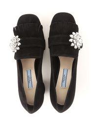 Prada - Black Shoes For Women - Lyst
