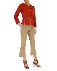 Abrigo de Plumas para Mujer Herno de color Red