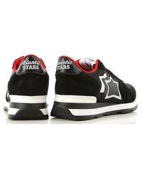 Sneaker Donna In Saldo di Atlantic Stars in Black