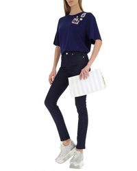 Denim Jeans di Moschino in Blue