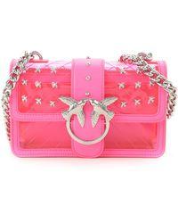 Pinko Pink Shoulder Bag For Women On Sale