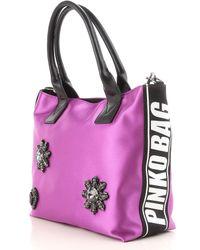 Pinko Purple Handbags