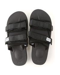 Suicoke Sandalen für Herren Günstig im Outlet Sale in Black für Herren