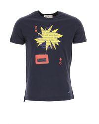 Camiseta de Hombre Baratos en Rebajas Outlet Vivienne Westwood de hombre de color Blue
