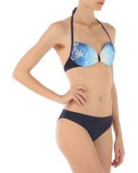 Twin Set - Blue Womens Swimwear - Lyst
