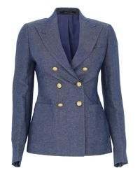 Tagliatore Blue Clothing For Women