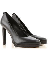 Zapatos de Tacón de Salón Baratos en Rebajas Outlet Michael Kors de color Black
