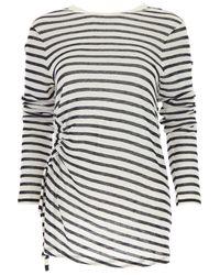 Alexander Wang - White T-shirt For Women On Sale - Lyst