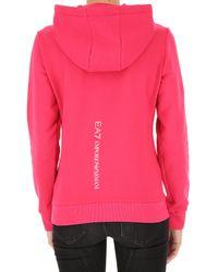 Sweatshirt for Women Pas cher en Soldes Emporio Armani en coloris Pink