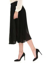 Jupe Femme Pas cher en Soldes Michael Kors en coloris Black