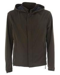 Emporio Armani Brown Jacket For Men On Sale for men