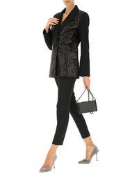 Pantalon Femme Pas cher en Soldes Dondup en coloris Black