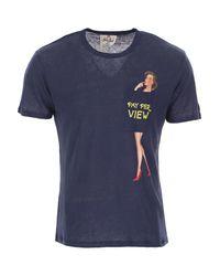 Mc2 Saint Barth Blue T-shirt For Men for men