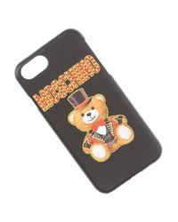 Moschino Black Iphone Cases On Sale