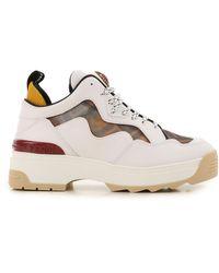 Sneaker Femme Fendi en coloris White